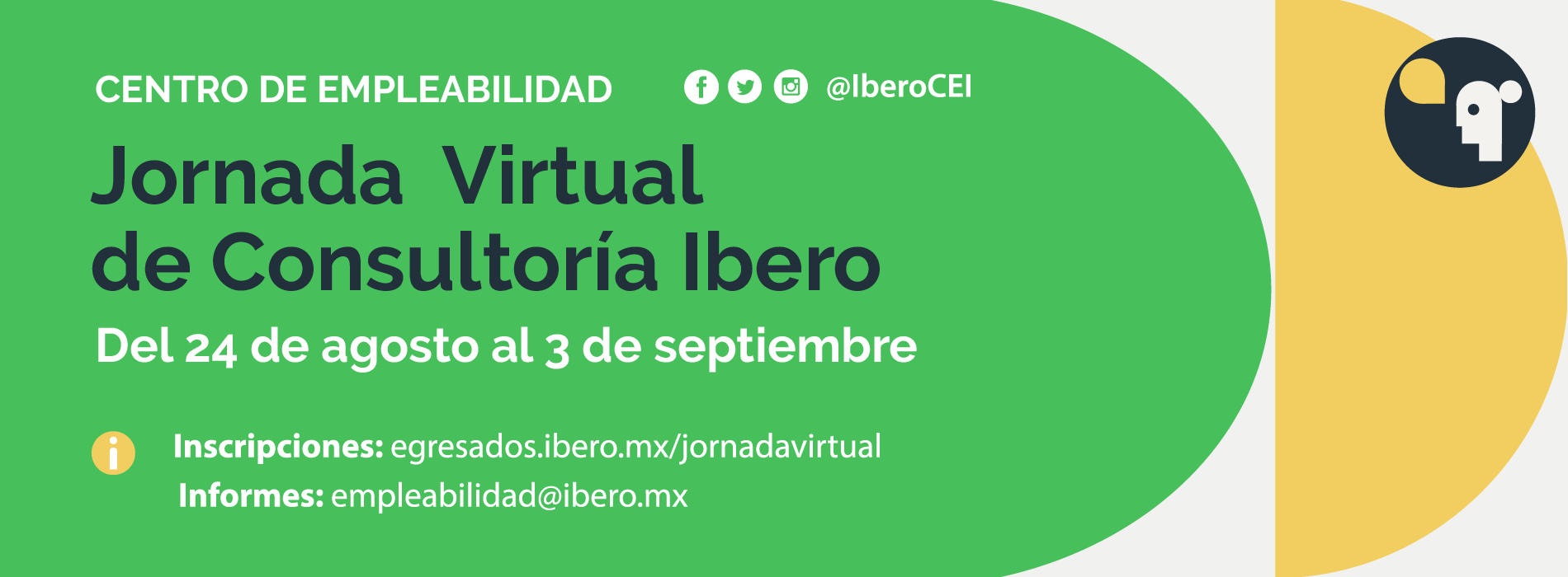 Jornada Virtual de Consultoría Ibero reunirá a 20 empresas líderes