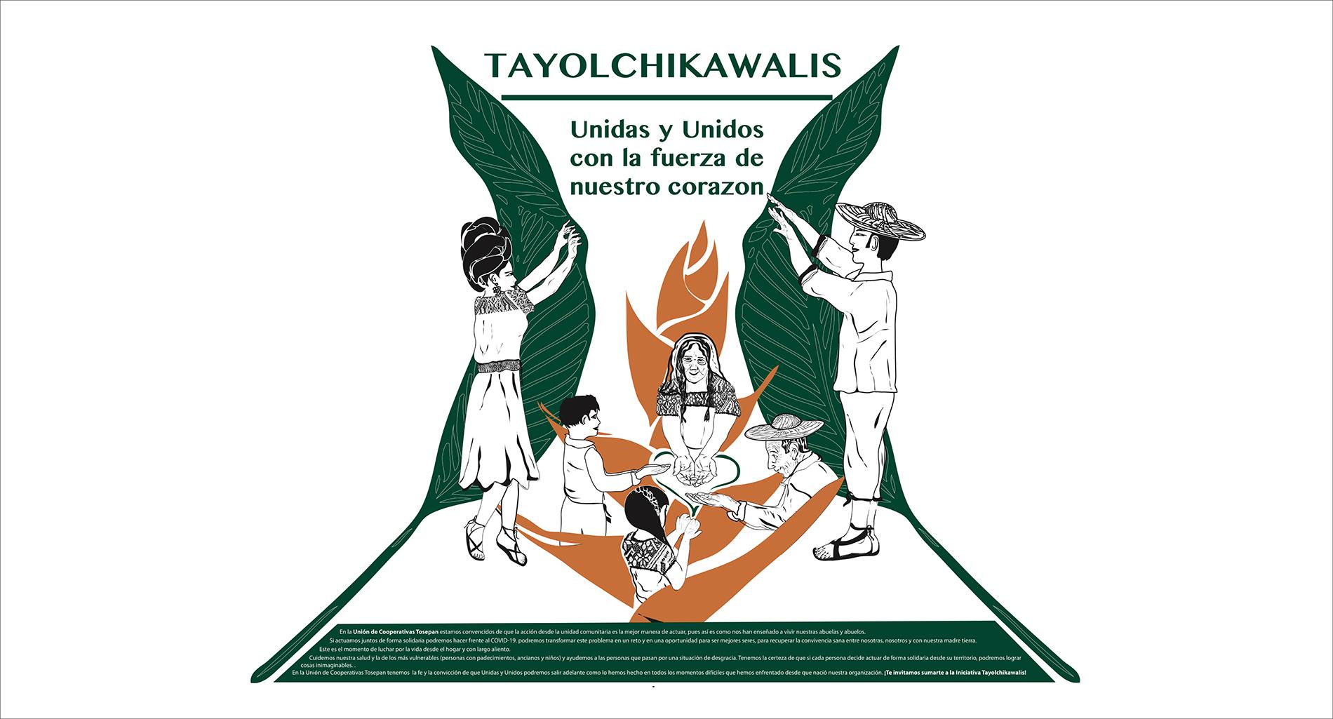 Iniciativa Tayolchikawalis: Estrategia de comunicación y prevención frente al COVID-19 en comunidades Náhuatls de la Sierra Nororiental de Puebla.