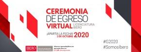 Ceremonia de Egreso Virtual Licenciatura